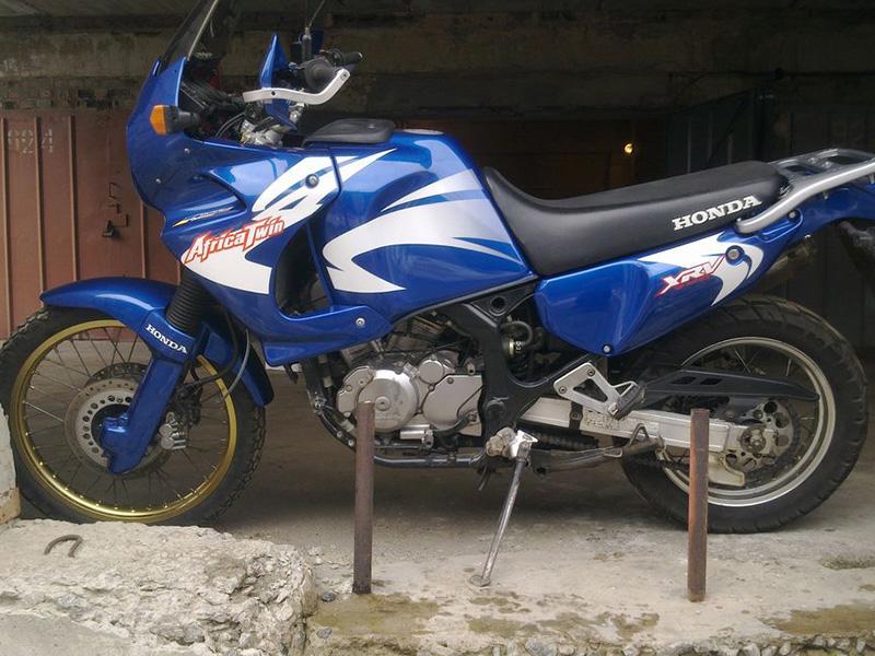 Мотоцикл Africa Twin 2