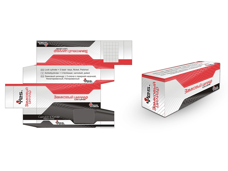 Дизайн коробки замка