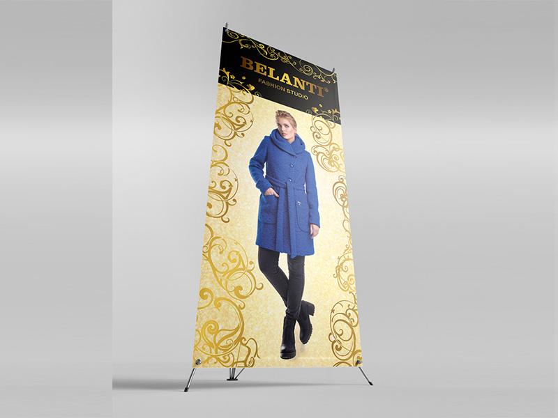 Х-баннер BELANTT