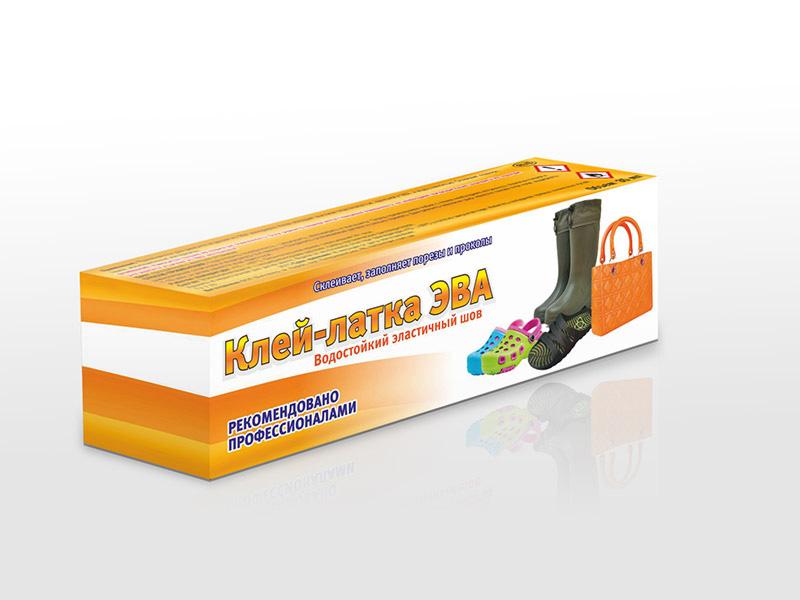 Дизайн коробки для клея