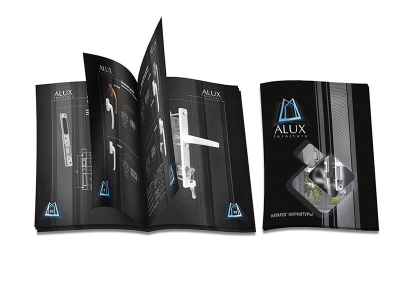Разработка каталога Алюкс