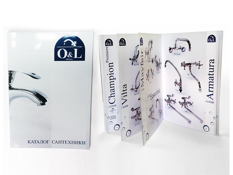 Дизайн каталога O&L