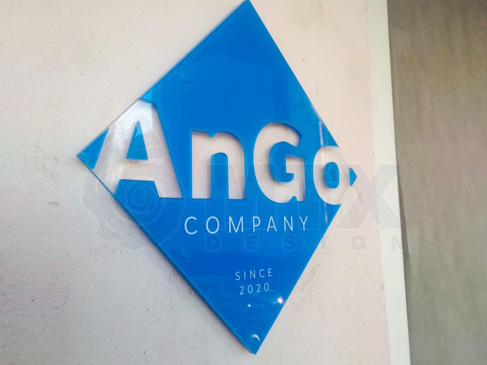Логотип фирмы AnGo