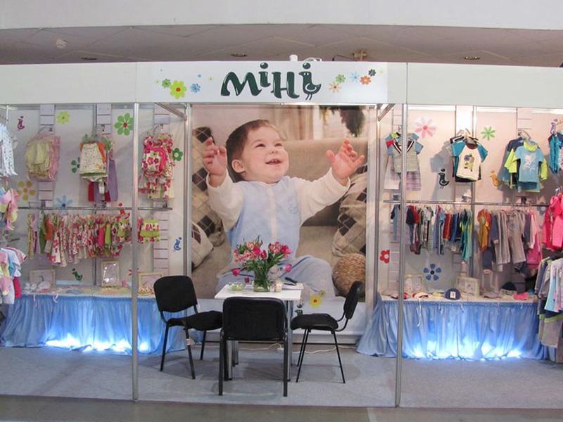 Оформление выставочного стенда Мини
