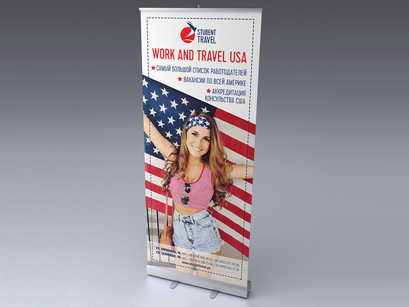 Roll-Up StudentTravel USA