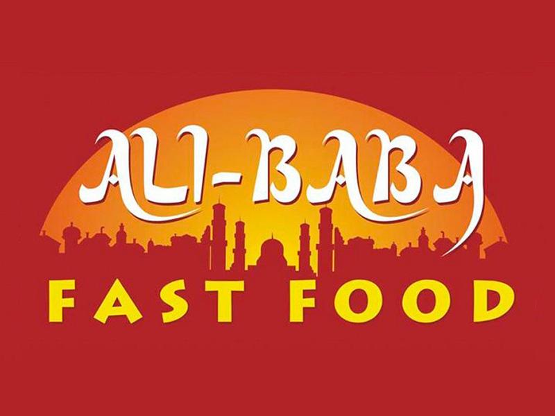 Логотип Ali-Baba fasfood