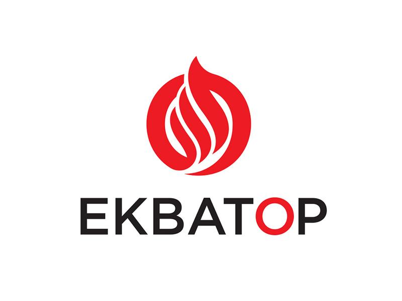 Логотип Экватор отопление и вентиляция
