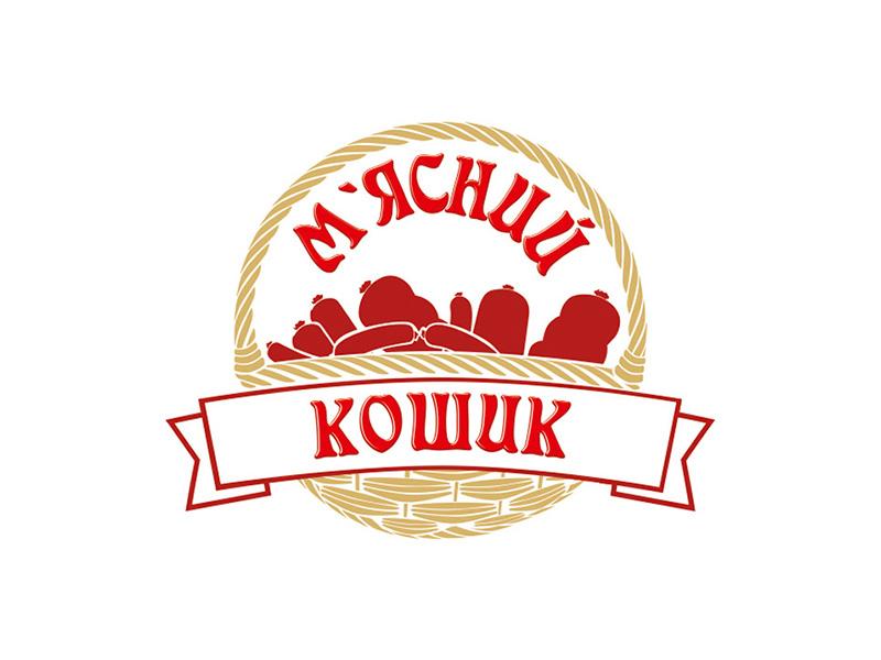 Логотип М'ясний кошик  сеть мясных магазинов