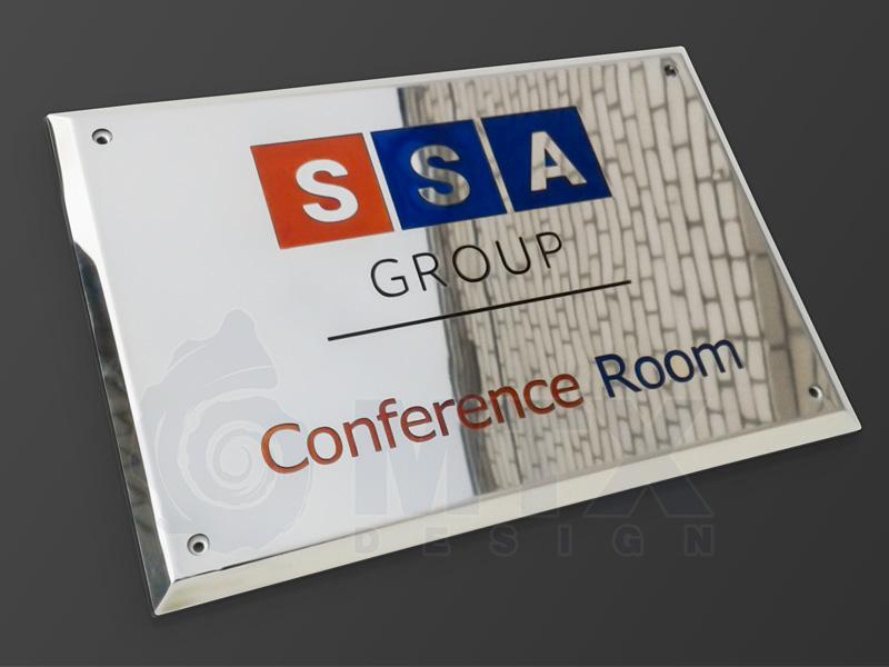 Офисная табличка SSA